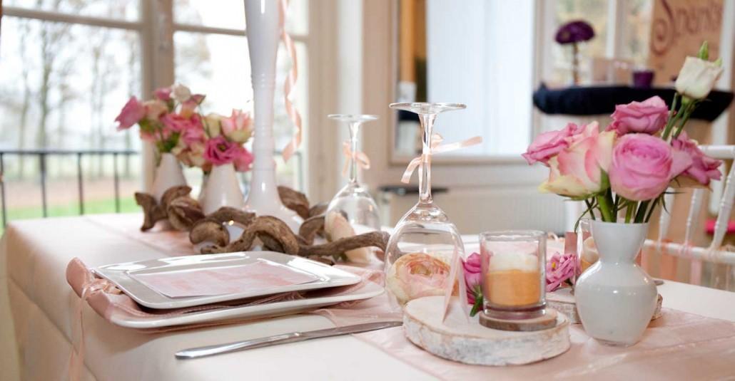 Decoratie op je bruiloft persoonlijke aspecten maken een for Tafeldecoratie huwelijk
