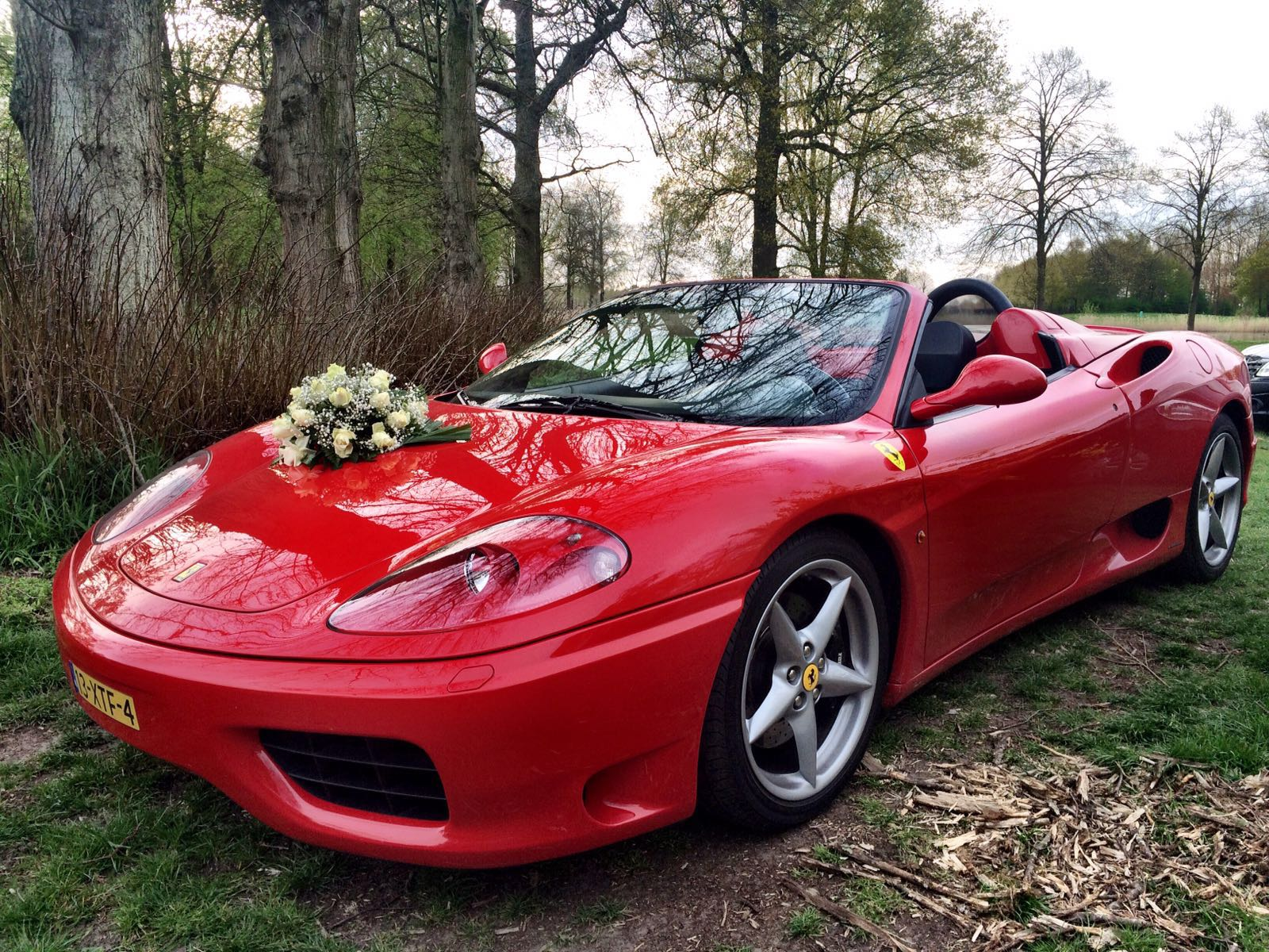 Wishes and Weddings Ferrari 360 Modena