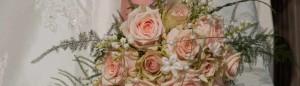 trouwboeket, bruidsboeket, corsages bruiloft